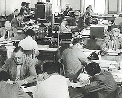 newsroomcirca1955