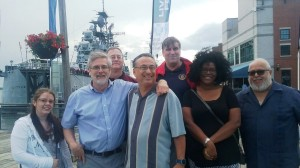 multidistrict council members at canalside