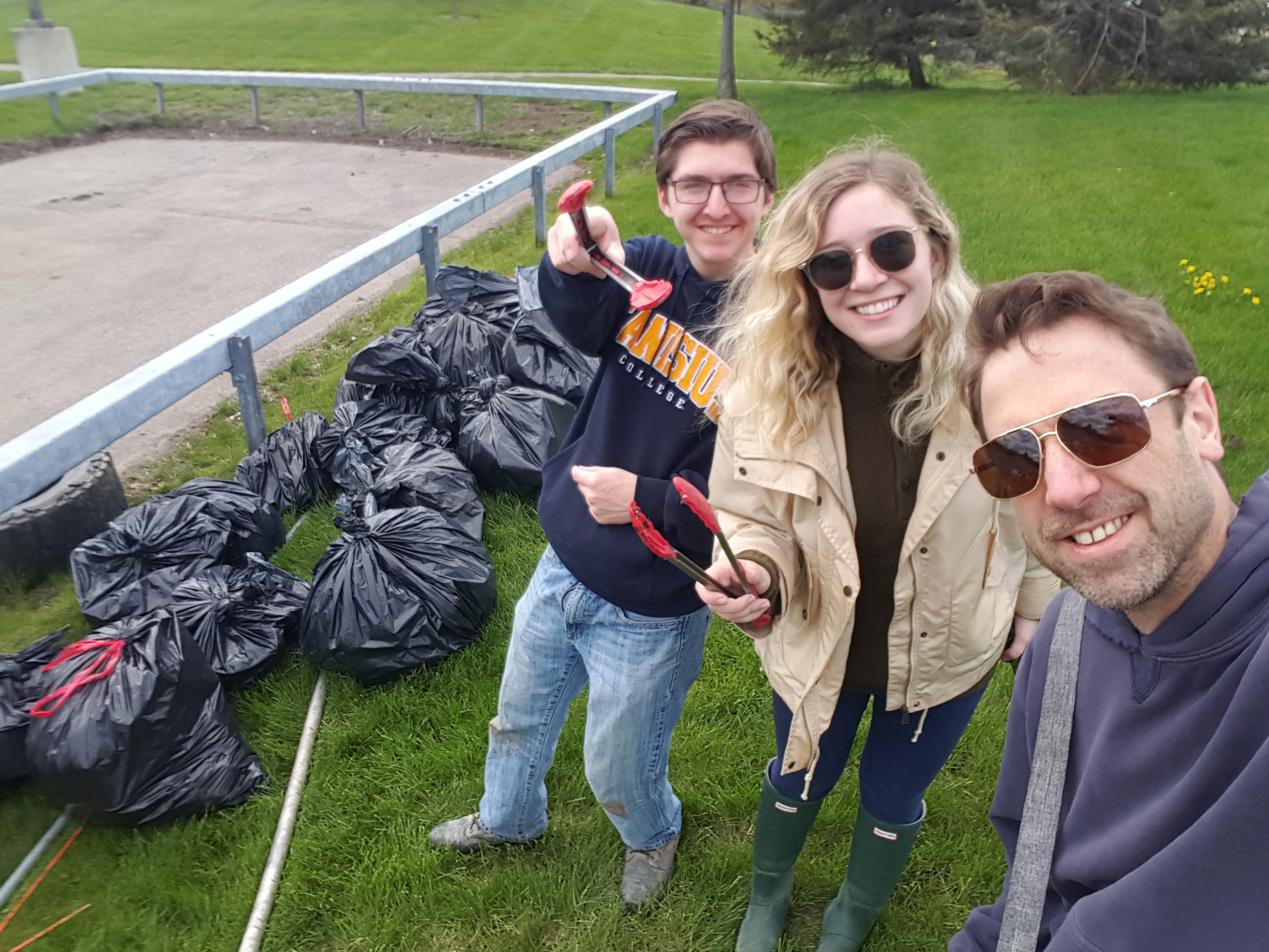 guild shoreline cleanup 2019